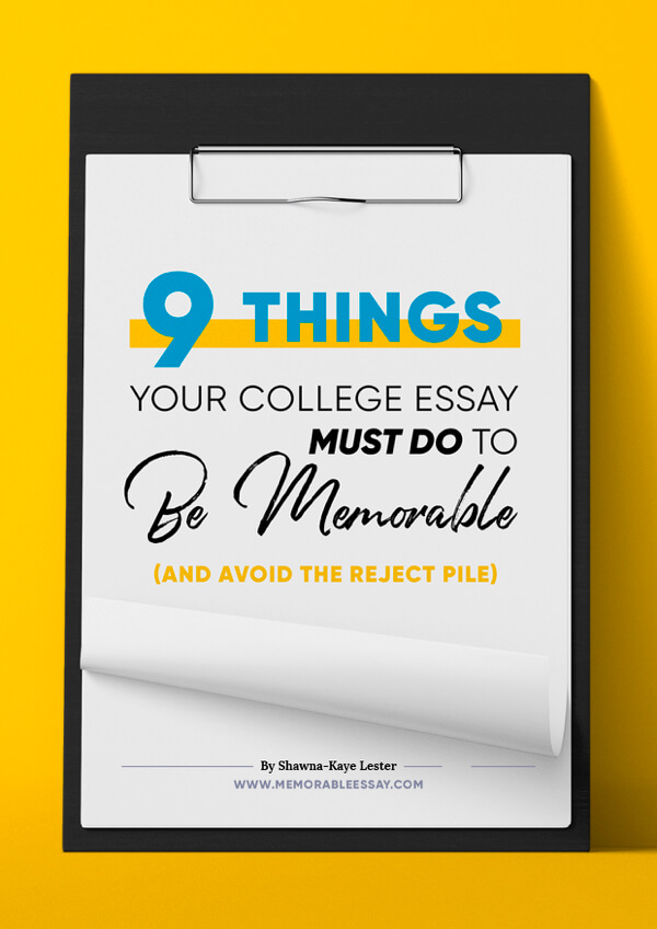 Do colleges read your essay